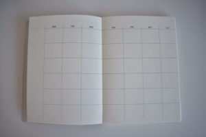 Standard Monthly Layout