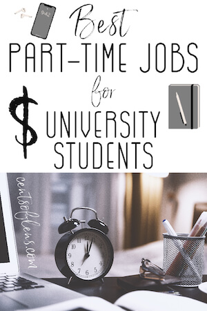 Best Part Time Jobs for University Students