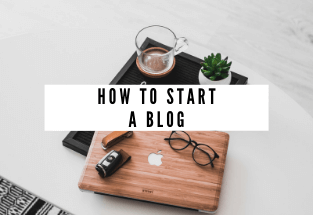 how to start a blog - cents of lens