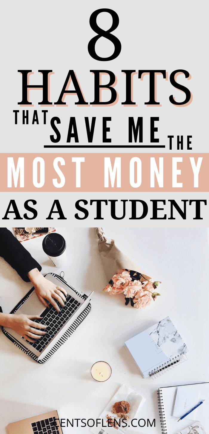 Habits that Save Me the Most Money as a Student